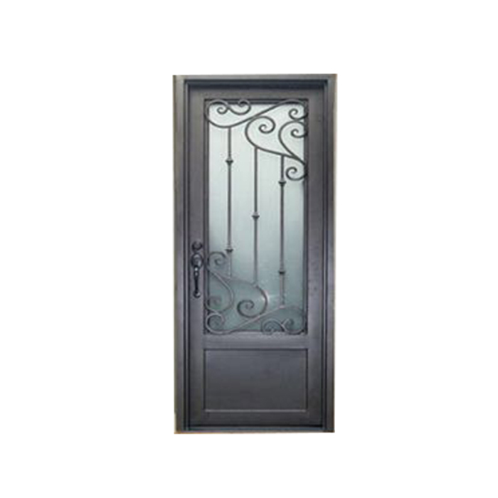 many iron door accessories and inserts